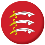 Essex County Flag 58mm Button Badge
